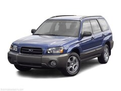 2004 Subaru Forester 4DR 2.5 XS Manual SUV