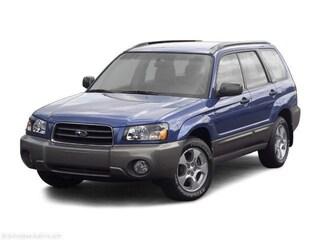 2004 Subaru Forester 2.5 XS SUV
