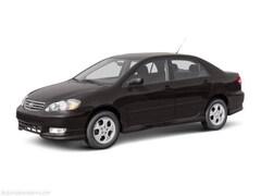2004 Toyota Corolla Sedan