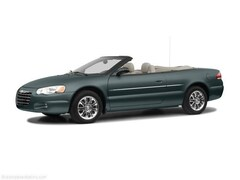 Used 2005 Chrysler Sebring Limited Convertible S2762A for sale in Indianapolis, IN