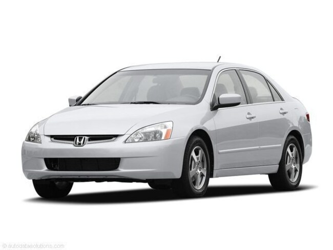 2005 Honda Accord Hybrid IMA Automatic IMA AT