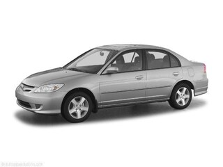 Used 2005 Honda Civic LX Sedan 0H79152B Houston, TX