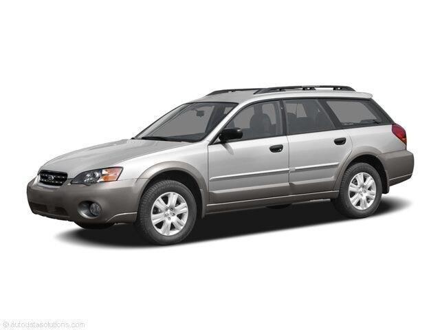 2005 Subaru Legacy Wagon Outback Outback 2.5i Auto