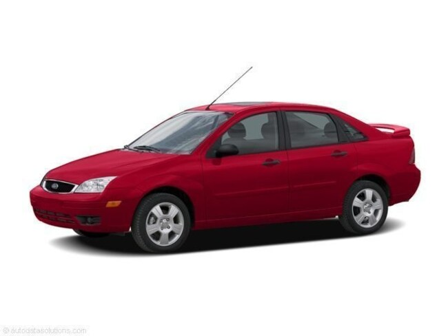 2006 Ford Focus SES Front-Wheel Drive  Sedan