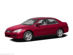 2006 Honda Accord SE Sedan 5-Speed Manual with Overdrive