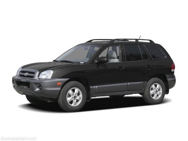 2006 Hyundai Santa Fe GLS Crossover SUV