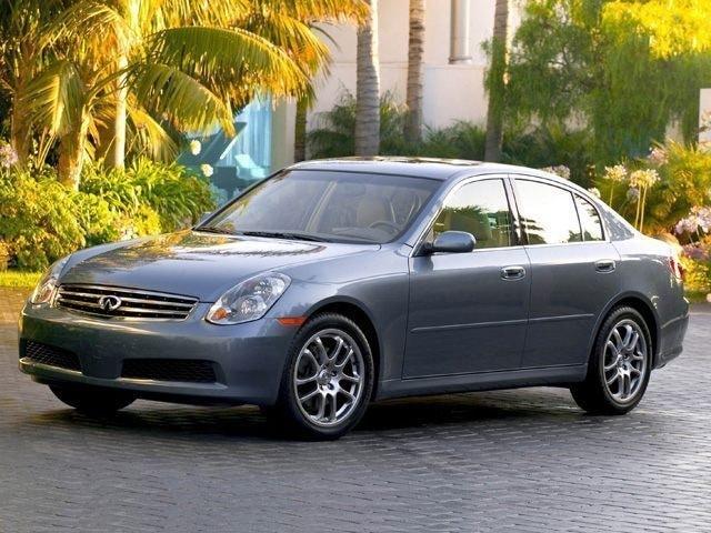 2006 INFINITI G35x Base Sedan