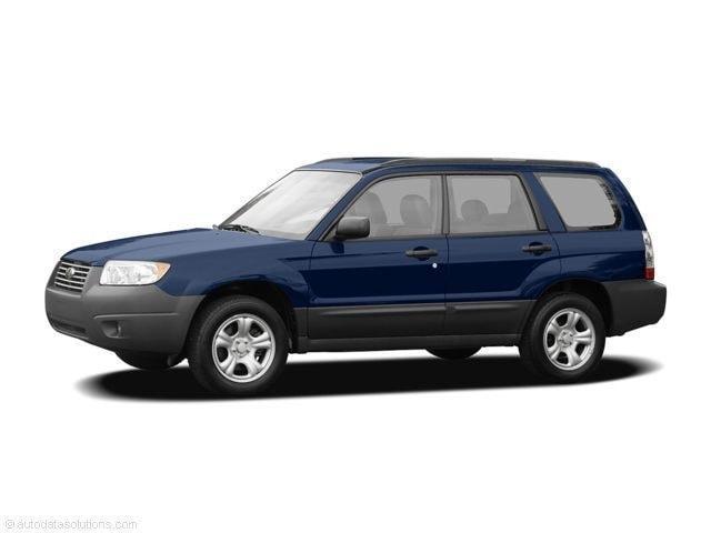 2006 Subaru Forester 2.5 X 2.5 X Auto