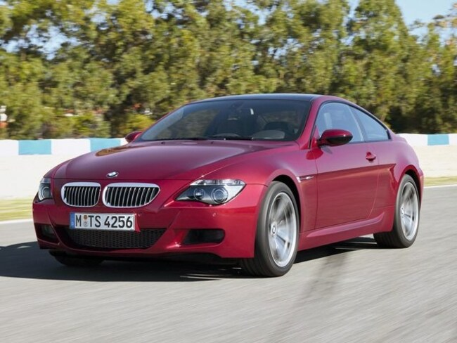 2007 BMW 6 Series M6 Coupe