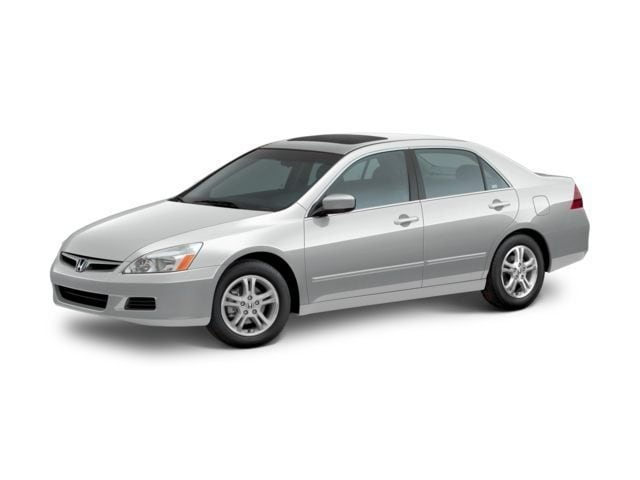 Used 2007 Honda Accord 2.4 EX w/Leather Sedan Bennettsville