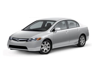 Used 2007 Honda Civic LX Sedan H191158A Houston, TX