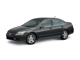 2007 Honda Accord Hybrid Base Sedan