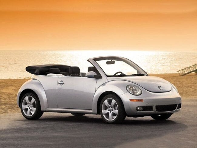 2009 Volkswagen New Beetle 2.5L Convertible
