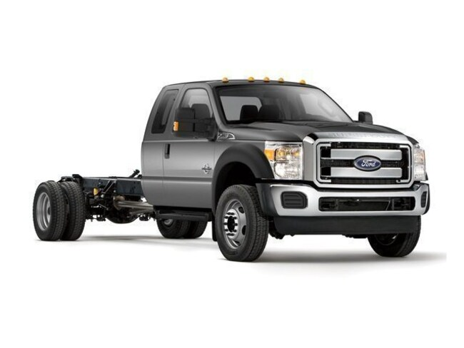 2011 Ford F-550 Chassis Truck Super Cab