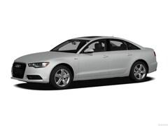 2012 Audi A6 Sedan Fronttrak 2.0T Premium Plus Car