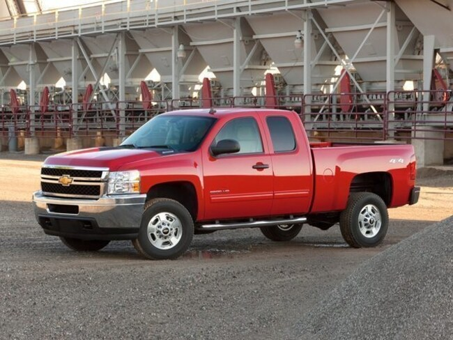 2012 Chevrolet Silverado 2500HD Work Truck 4WD Extended Cab Truck Extended Cab