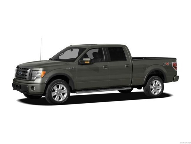 2012 Ford F-150 XLT 4WD  Crew Cab Short Bed Truck