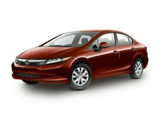2012 Honda Civic LX (Non-Inspected Wholesale Tow-Off) Sedan