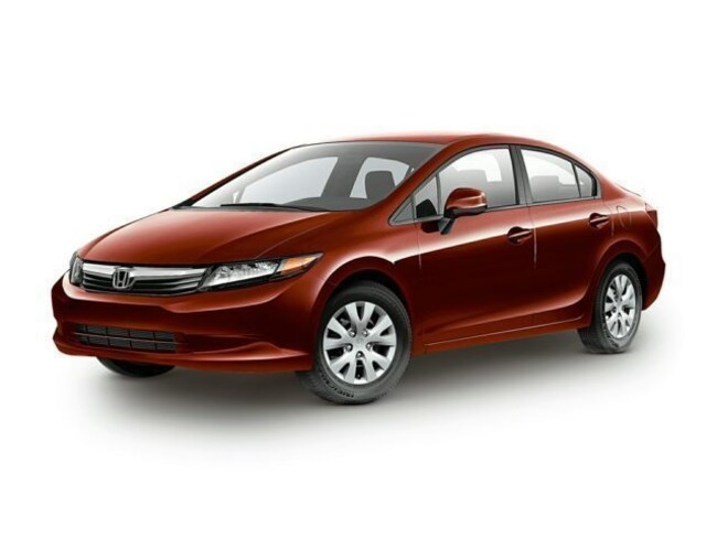 2012 Honda Civic 4dr Auto LX Car