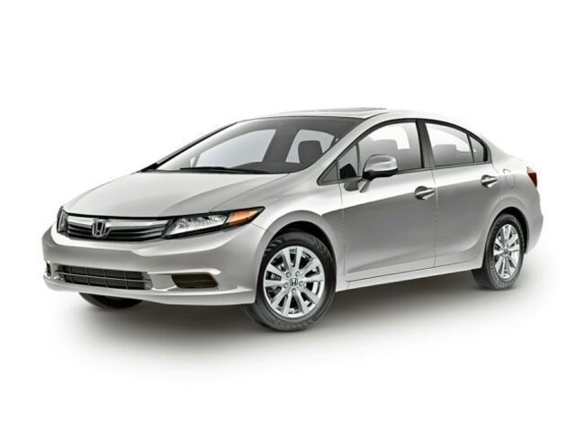 Used 2012 Honda Civic EX Sedan for sale in Boston, MA
