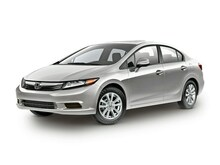 2012 Honda Civic 4dr Auto EX Sedan