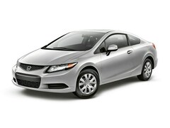 2012 Honda Civic 2dr Auto LX Coupe
