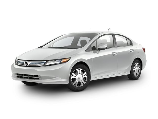 2012 Honda Civic Hybrid Base W/Leather Sedan