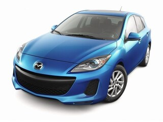 Used 2012 Mazda Mazda3 HB Auto i Grand Touring Hatchback JM1BL1M84C1609662 in Burlingame