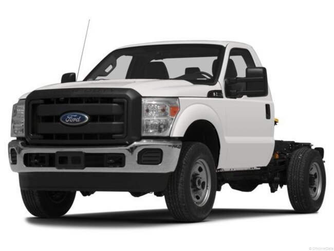 2013 Ford F-350 Chassis Cab Chassis Truck