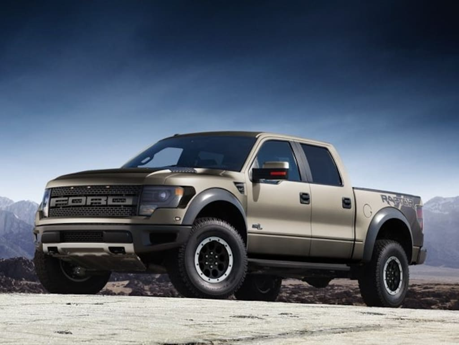 Used  Ford F  Svt Raptor Truck Rockford Mi