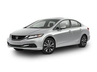 used 2013 Honda Civic EX Sedan 19XFB2F87DE059122 for sale in New Bern