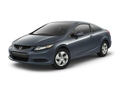 Bargain Used 2013 Honda Civic LX Coupe in Fort Worth, TX