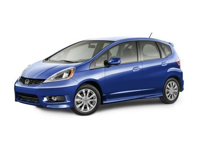 Certified Pre-Owned 2013 Honda Fit Sport HB Auto Sport in Springfield, PA