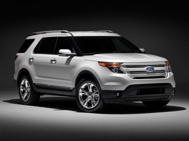 Used 2014 Ford Explorer Limited 105321 miles Stock D8933A VIN 1FM5K8F85EGA09945