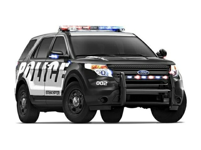 2015 Ford Explorer Police Wagon