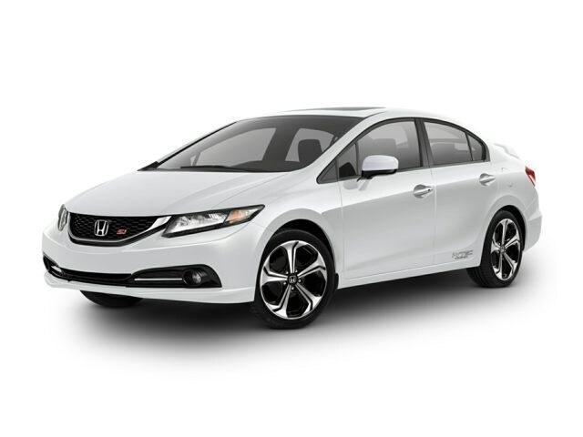 2015 Honda Civic 4dr Man Si Car