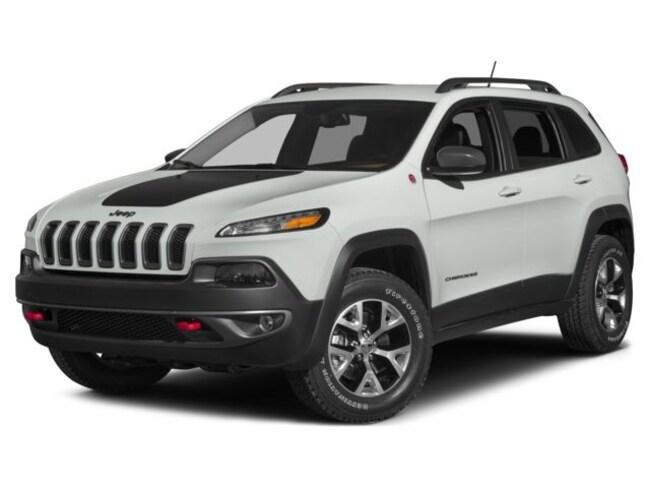 Certified 2015 Jeep Cherokee Trailhawk 21254 miles Stock 33197A VIN 1C4PJMBSXFW705024