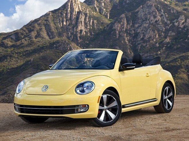 Used 2015 Volkswagen Beetle Convertible For Sale   Hyannis MA