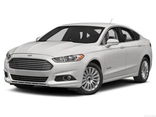 2016 Ford Fusion S Hybrid Sedan