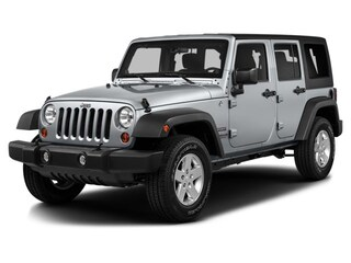 Used 2016 Jeep Wrangler JK Unlimited Sport 4X4 SUV for sale in Greenfield