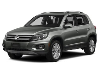 2016 Volkswagen Tiguan 2.0T SEL Automatic with 4MOTION SUV