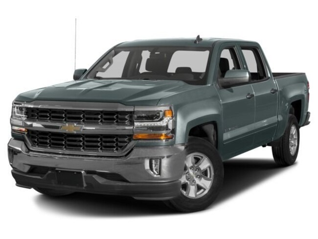 Used 2017 Chevrolet Silverado 1500 LT w/1LT Truck Crew Cab for sale in Monticello, NY