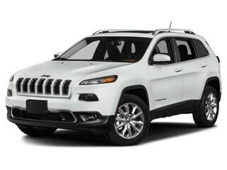Used 2017 Jeep Cherokee Limited 4x4 SUV in Lynchburg, VA