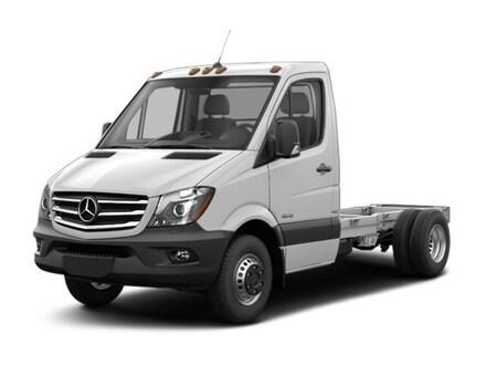 2017 Mercedes-Benz Sprinter 3500XD Chassis Standard Roof V6 Truck