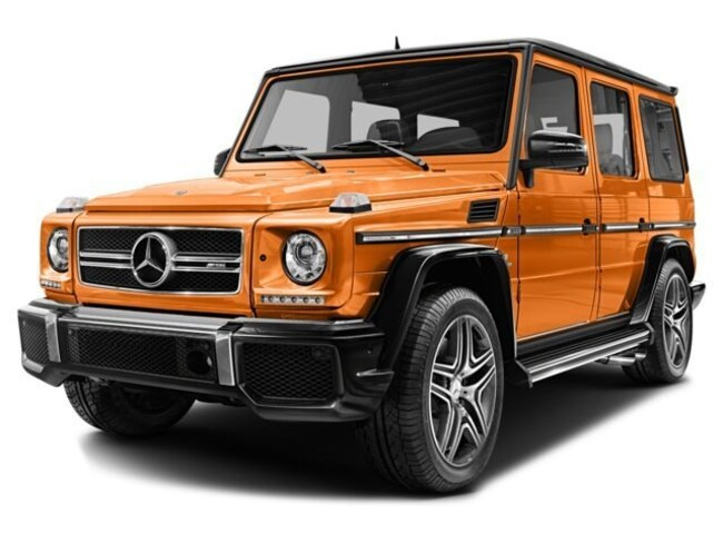 Certified Used 2017 Mercedes-Benz AMG G 63 AMG G 63 SUV in Santa Monica