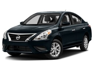 2017 Nissan Versa 1.6 S Sedan