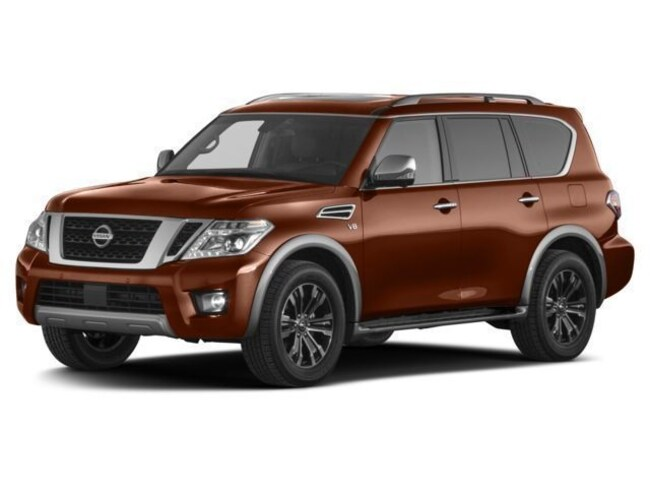 New 2017 Nissan Armada Platinum SUV in Oakland, CA