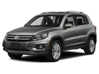 Pre-Owned 2017 Volkswagen Tiguan 2.0T Wolfsburg Edition 4MOTION SUV in Sylvania, OH