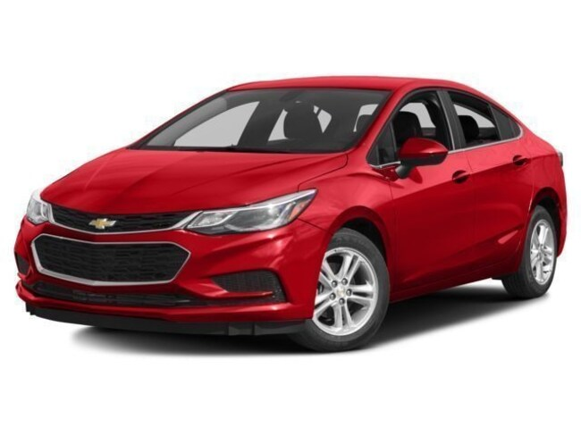 New 2018 Chevrolet Cruze LT Auto Sedan in Cortland