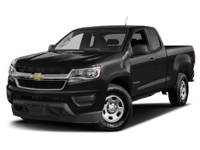 New 2018 Chevrolet Colorado WT Truck Extended Cab in Cortland